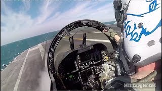 F/A-18 Catapult Launch aboard CVN 71 USS Theodore Roosevelt