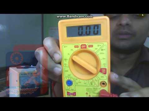 How to check Cellphone Battery Using Digital Multi meter!!digital multimeter handling |