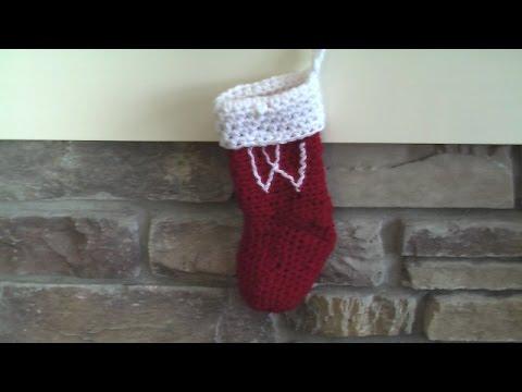 Crochet stocking stuffer, small