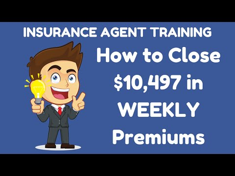 How to Close $10,497 Weekly Premium | Ken Hamilton