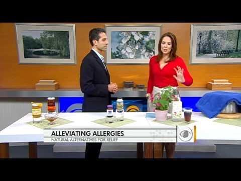 Use honey as an allergy remedy