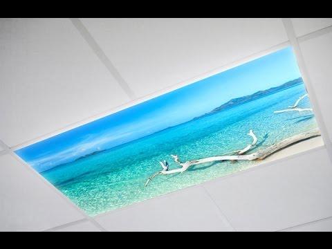 Custom Fluorescent Light Covers | DecorativeLightCovers.com
