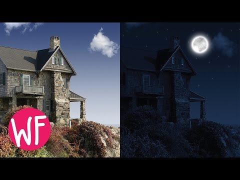 Photoshop Tutorial | How to Make Day to Night in Photoshop