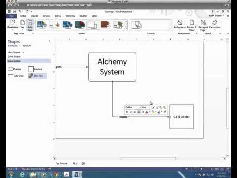 Tutorial:  Creating a Context Diagram With Visio