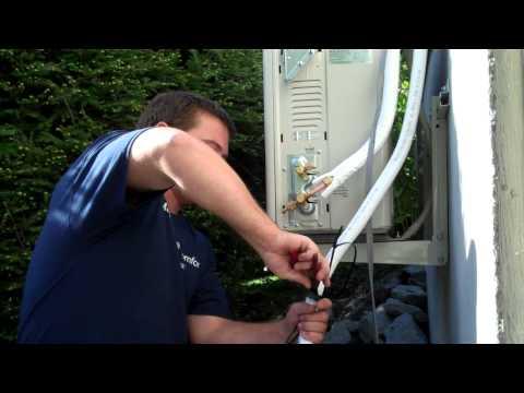 Installing Fujitsu 12RLS2 Mini Split Heat Pump