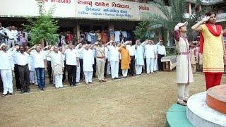 Independence day function at NRAV, Bhiloda, Aravalli, Gujarat