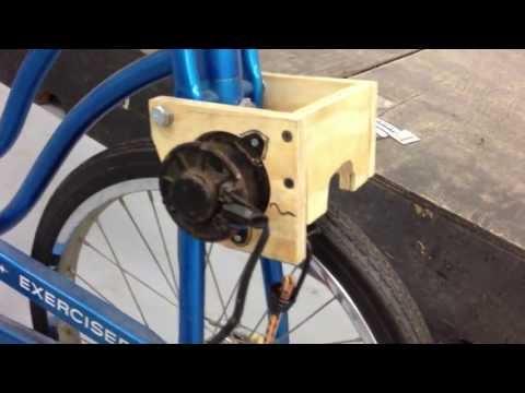 DIY Exercise Bike Generator