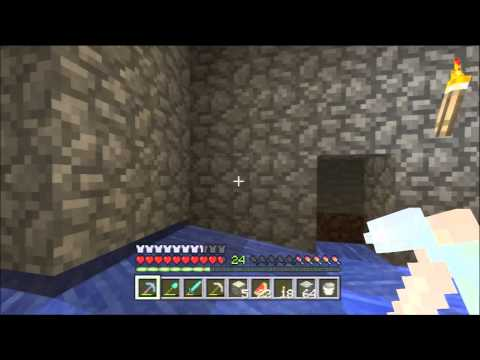 Minecraft Xbox 360 1.0.1 #63 - Zombie Mob Spawner Trap Tutorial (Rotten Flesh Farm)