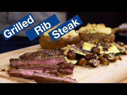 Rib Steak On The Otto Wilde OFB Grill Recipe || Le Gourmet TV Recipes