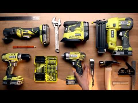 Ryobi tools for the holiday at Home Depot