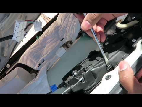 Replacing an interior door handle  (with door panel removal/Nissan) 2013, 2014, 2015🚗