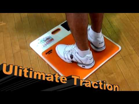StepNGrip Traction System -- Now with Gel Mat.  Stop slipping on the court.