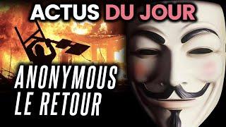 Donald Trump réfugié dans un bunker, Anonymous de retour... Les actus du jour