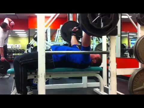 1st Workout - Titan Super Katana Bench Shirt Custom Working up to 495 lbs