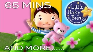 Download Teddy Bear Teddy Bear | Plus Lots More Nursery Rhymes | 65 Minutes Compilation from LittleBabyBum! Video