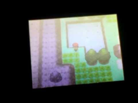 How to catch mew in pokemon diamond/pearl         (Hack)