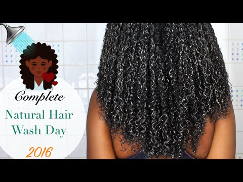 NATURAL HAIR WASH DAY💆🏾🚿| Reduce shedding, Rejuvenate your scalp and retain length!