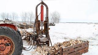 45 Ton Log Splitter