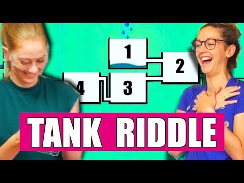 WHICH TANK FILLS FIRST? ft. Simone Giertz