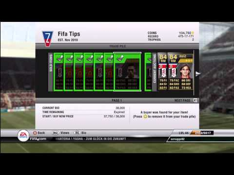FIFA 12 Ultimate Team: Coin Making Tutorial - Supply and Demand
