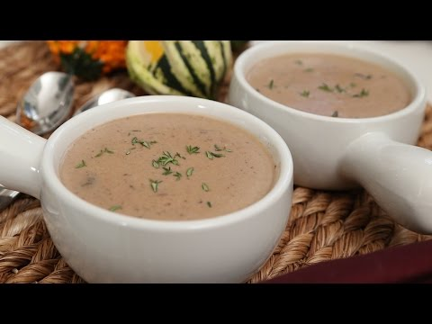Cream of Mushroom Soup | #Homemade