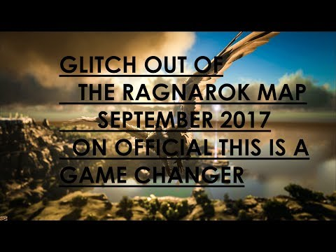 ark GLITCH OUT THE NEW RAGNAROK MAP BRAND NEW SEPTEMBER 2017