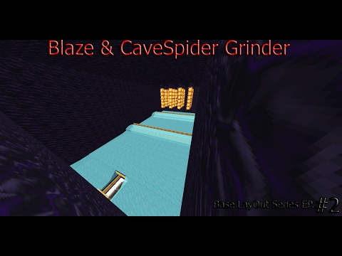 The Many Ways to do Blaze & Cave Spider Grinders!!!! Super Efficient!!!!!!!!