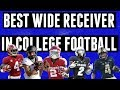 CeeDee Lamb Jerry Jeudy And The Best College Football Wide Receivers In 2019
