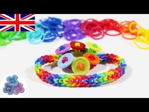 DIY How to make Rainbow Loom  Inverted Fishtail Bracelet Rainbow Loom Bracelets Mathie