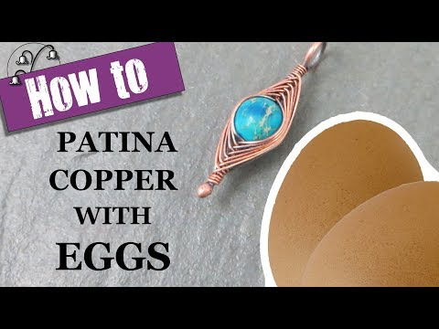 How to Patina Copper with Eggs