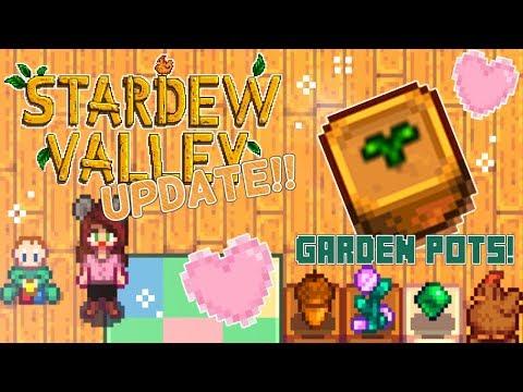 Garden Pots! 🌻| Stardew Valley • Update 1.3 | Ep. 1