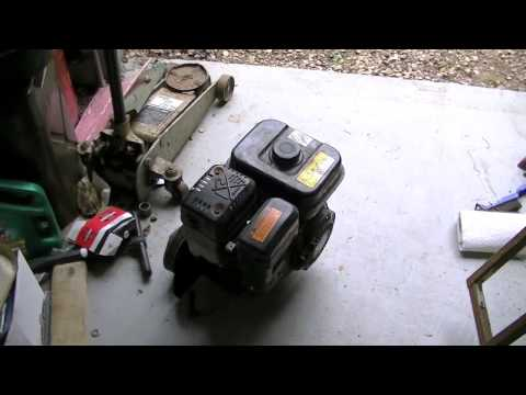 6.5 HP Go Kart Build Part 1 - Engine and Parts