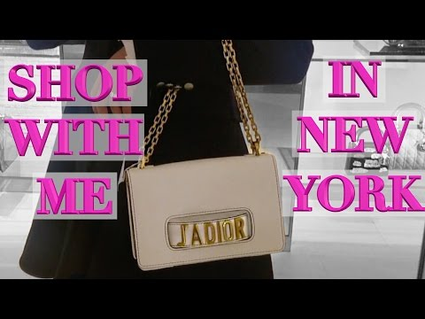 New York Lux Shopping Vlog Part 1 - Dior, Chanel, Fendi Spring Collections