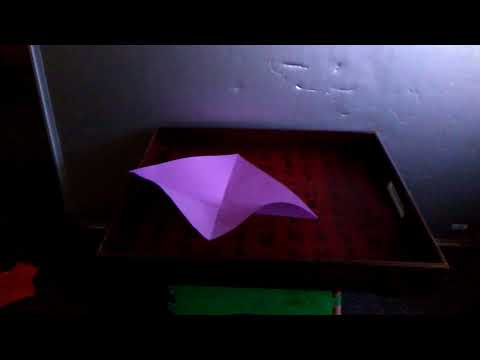 How to make an origami PERSON!