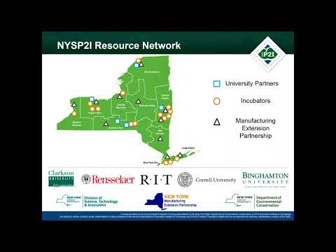 NYS Pollution Prevention Institute:Supporting Sustainable and Innovative Business Solutions