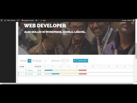 How to Setup Master Slider in Signature Resume WordPress Theme