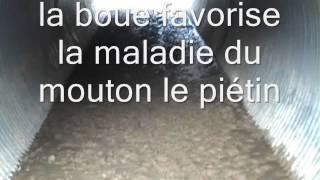 #Philippe Layat 20 09 2015 état du boviduc plein de boue et de pierres pointue