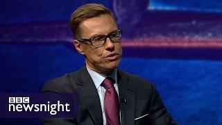 Alexander Stubb: Europe should not punish UK for Brexit - BBC Newsnight