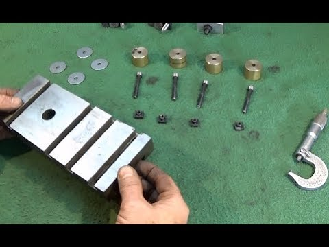 Easy To Make Adjustable Milling Pallet For The Myford Lathe