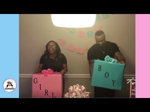 pt 2 baby gender reveal  compilation º pregnancy baby reveal ideas announcement 2017