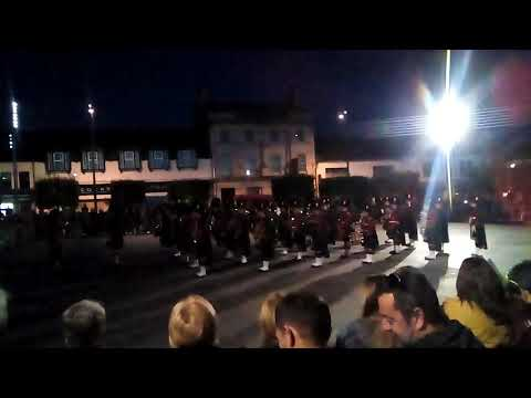 March Off of Massed Bands of The Royal Irish Regiment and The Royal Regiment of Scotland