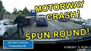 UK Dash Cameras - Compilation 36 - Bad Drivers, Crashes + Close Calls