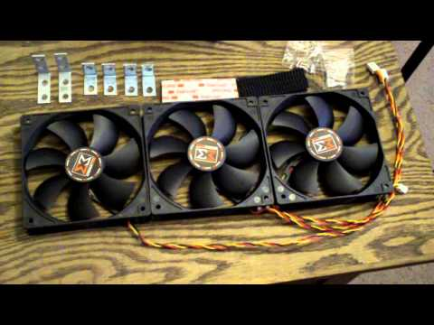 HSPC Tech Station: 2 x 120mm Fan Mod