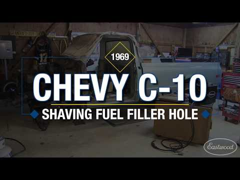 How To Shave/Fill a Gas Cap Filler Neck on a Chevy C10 Truck - Eastwood