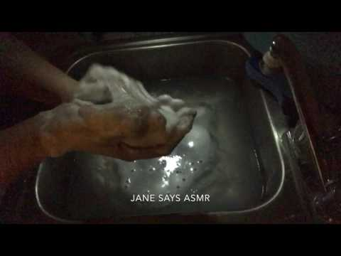 ASMR REQUEST: Soapy Lathering White Dove Bar Soap; Slow, Soothing, Super Sudsy