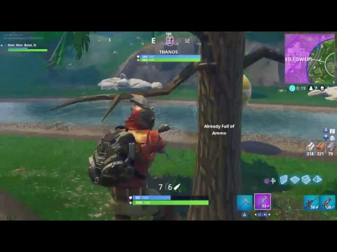 Fortnite Infinity Gauntlet Tilted Towers ONLY