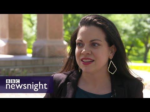 Women running for office in Texas – BBC Newsnight