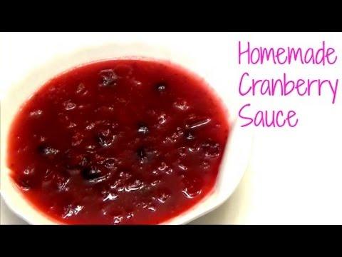 Homemade Cranberry Sauce - Episode 274