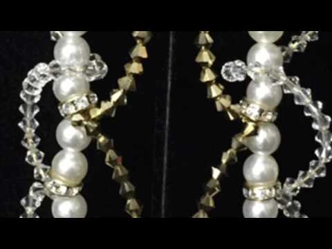 Circle of Pearls Clip On Earrings