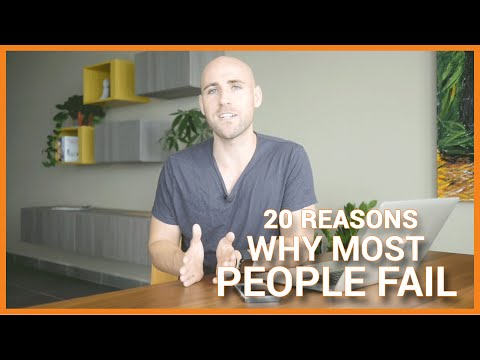 20 Reasons Why Most People FAIL To Build A Successful Online Business